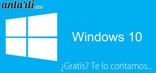 ¿Cómo conseguir Windows 10 gratis?